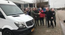 Nieuwe koelwagen voor Voedselbank de Baronie